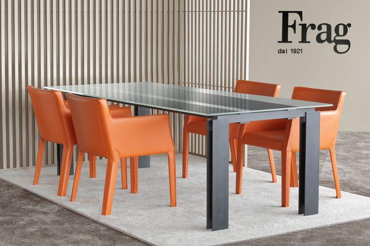 Bridge Table - design: Mist-0 / Musa Armchairs - design: Michele di Fonzo  www.frag.it