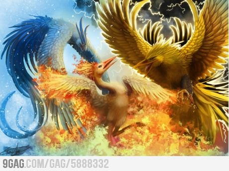 Realistic Pokemon: The Legendary Bird Trio | Geek ...