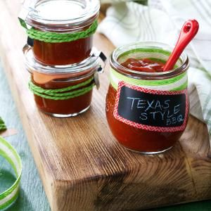 Texas-Style BBQ Sauce Recipe -We love a barbecue sauce with all the right moves: ketchup, mustard, lemon juice, chili powder, Worcestershire and brown sugar. —Sandy Klocinski, Summerville, South Carolina