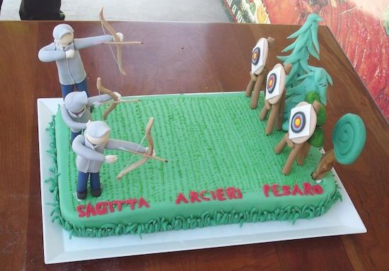 Another cool archery cake