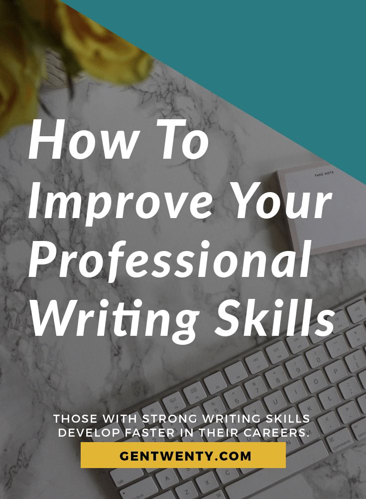 How to help with writing skills