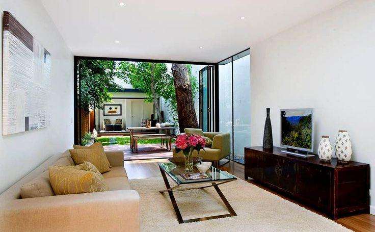 les 25 meilleures id es de la cat gorie plans de maisons troites sur pinterest plans maison. Black Bedroom Furniture Sets. Home Design Ideas