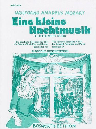 Mozart: Eine Kleine Nachtmusik (Descant Recorder & Piano)