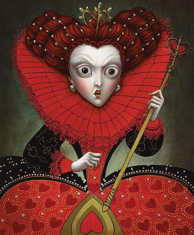 THE QUEEN OF HEARTS BY BENJAMIN LACOMBE