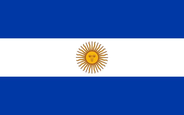 Flag of Argentina (1818) - Bandeira da Argentina – Wikipédia, a enciclopédia livre
