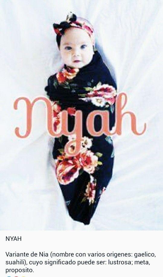 Nombres de niñas, significado del nombre Nyah.