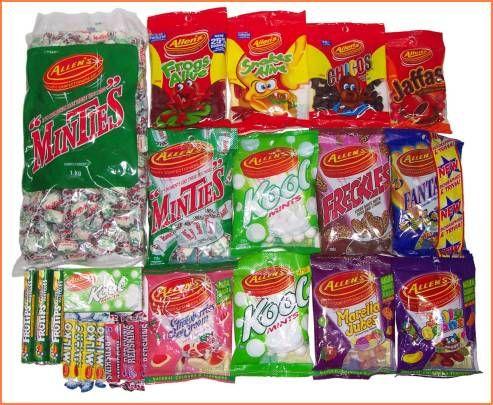 Australian Junk Food List
