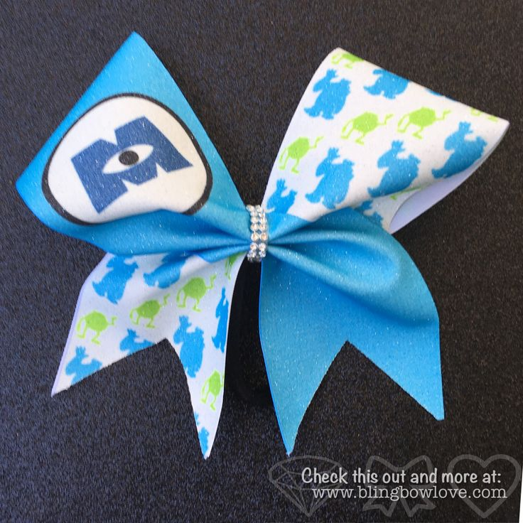 Set of 2 bows, 1 blue and 1 green. Bling Bow Love is committed to creating high quality cheer style bows. We can help with individual and team orders for practice, sideline or competition all at an af