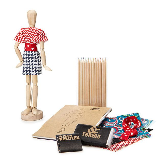 New York Fashion Designer Kit | Fashion design kit, kids crafts, learn to sew, doll clothes