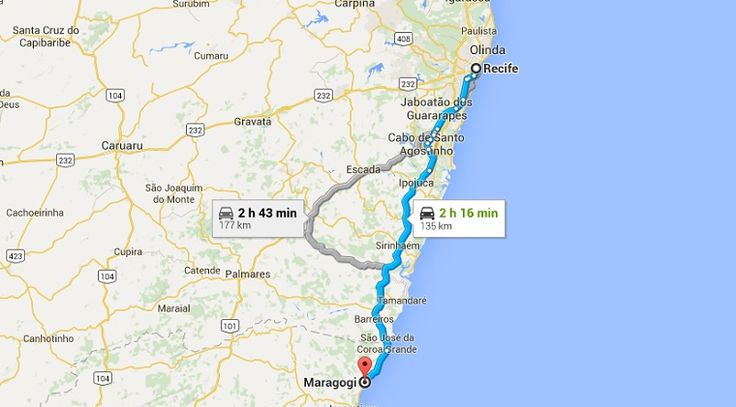 Como chegar em Maragogi a partir do Recife  De ônibus  A empresa e até a linha é a mesma. É a Real Alagoas, que opera o trecho Maceió – Recife (que passa por Maragogi). Os horários de saída também são idênticos: às 4h15 da manhã e às 11h, a partir do Terminal Rodoviário do Recife, num percurso de cerca de 2h30. A passagem custa R$ 24,30.  De táxi  Como a distância é praticamente a mesma, espere pagar um valor parecido para ir de táxi do Recife à Maragogi: entre R$ 200 e R$ 300. Na…