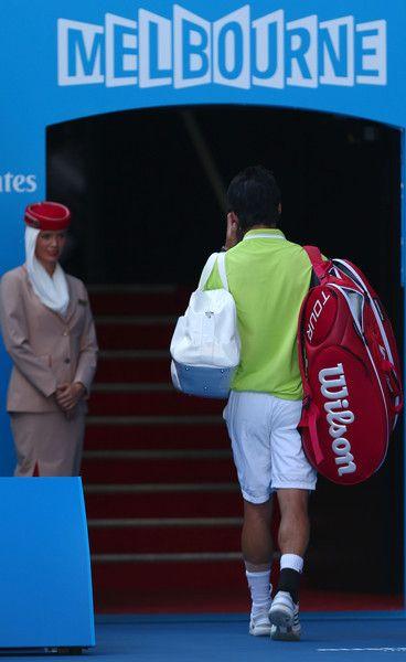 Kei Nishikori Photos - Australian Open: Day 10 - Zimbio