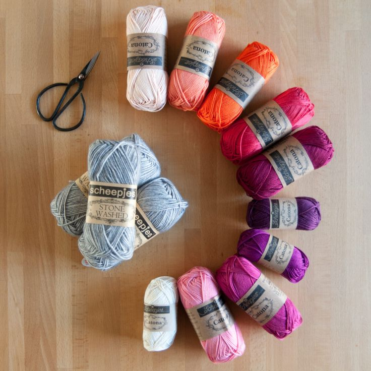 Hygge CAL Update #1: Colour choices… – merino & tomatoes