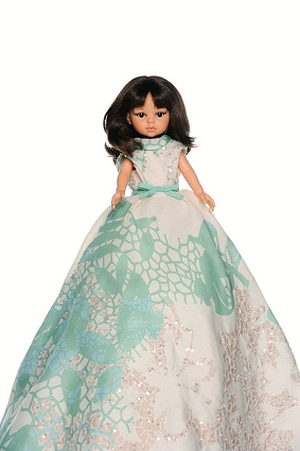 Elie Saab Doll For UNICEF's Frimousses Designers for Darfur.