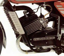 Zündapp KS 80 Motor
