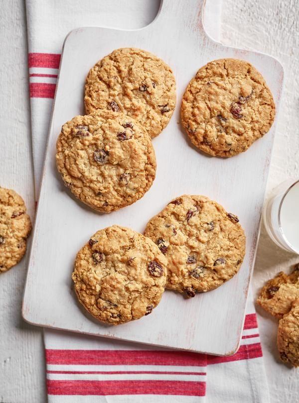 Biscuits à l'avoine et aux raisins |RICARDO