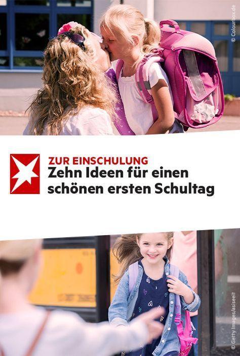 Zur Einschulung: Zehn Ideen für einen schönen ersten Schultag