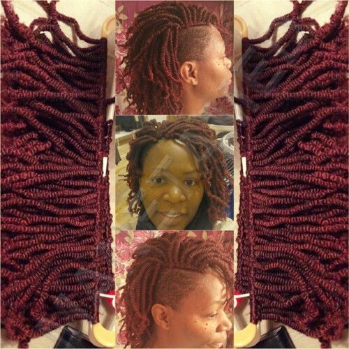 Crochet Nubian Twists On Natural Hair With Eon Hair