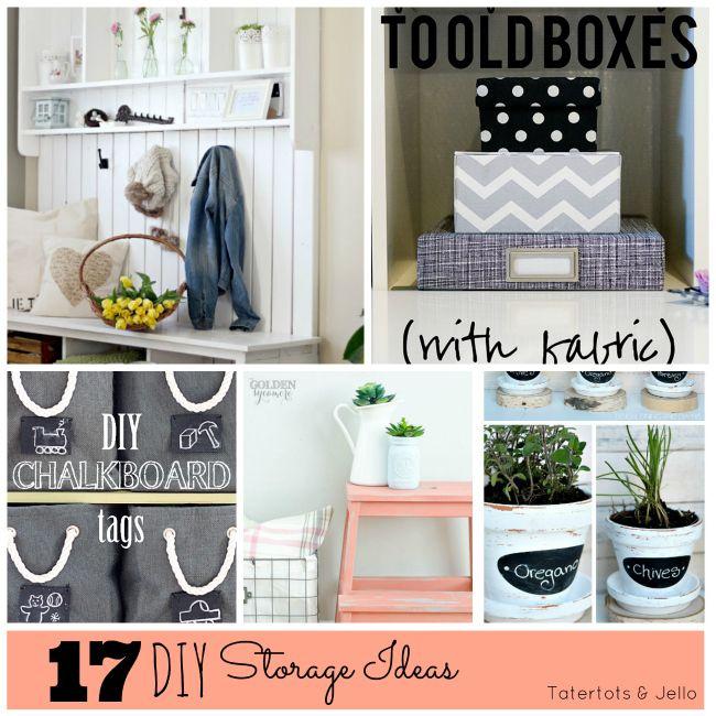 Great Ideas - 15 DIY Storage Projects!: 15 Diy, Cleaning Organization, Diy Crafts, Chevron Projects, Storage Projects, 17 Diy Storage Ideas Jpg, Crafts Future Projects, Craft Ideas, Diy Projects