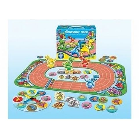 Dinosaur Race Board Game by Orchard Toys - Available at Kids Mega Mart Online Shop Australia