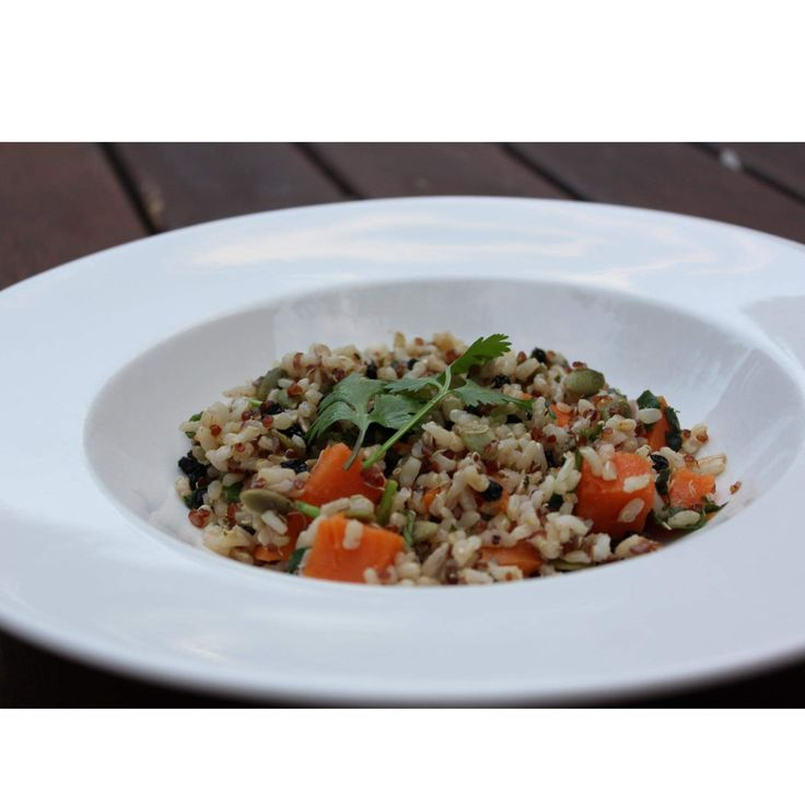 """Recipe Brown Rice, Quinoa, & Pumpkin Salad """"Solar Springs"""" by gpm_kp - Recipe of category Side dishes"""
