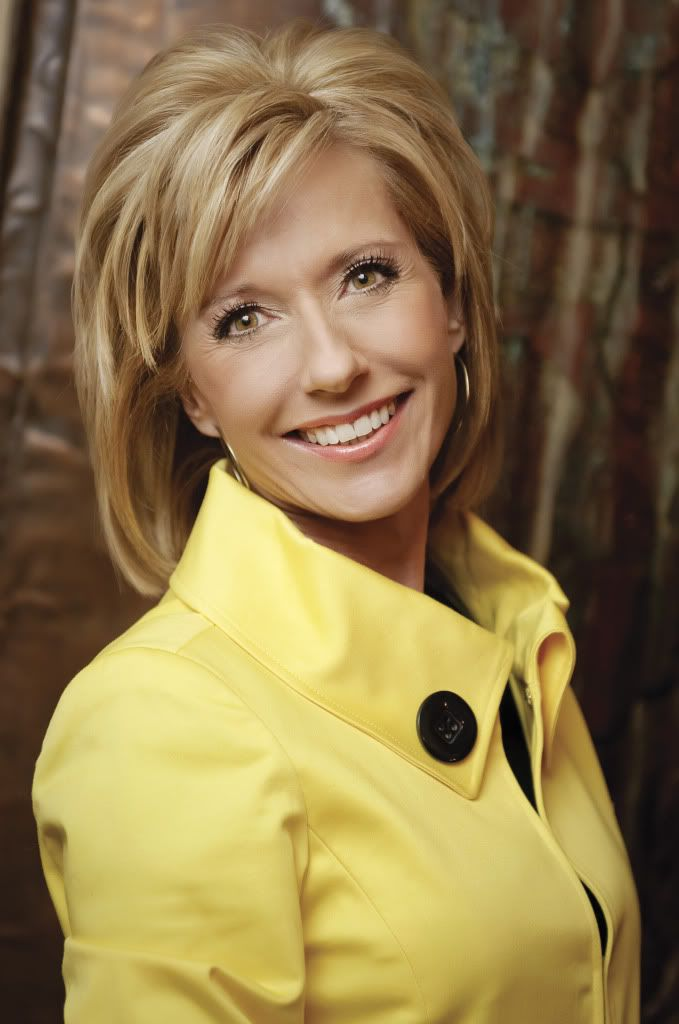 Beth Moore - hair cut. This isn't the original image I was looking for, but wanted to remember to look for it later.