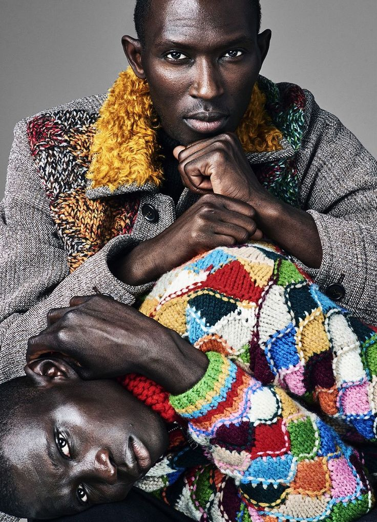 Armando Cabral and Fernando Cabral by Christian Anwander for Esquire Magazine