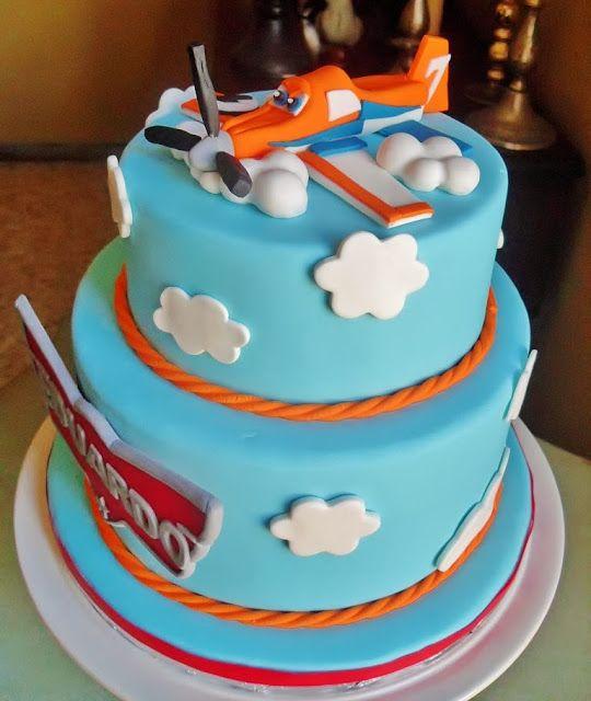Cupcake's house: Tarta de Aviones-Disney