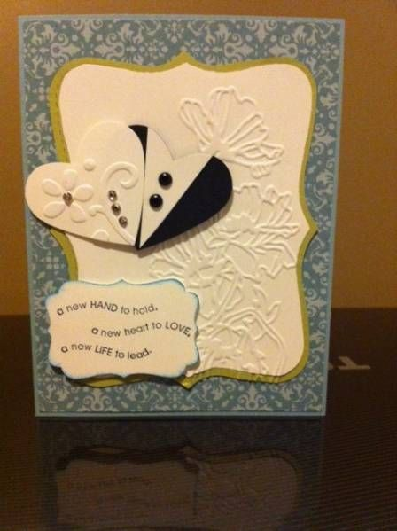 Wedding Card by jayl209 - Cards and Paper Crafts at Splitcoaststampers