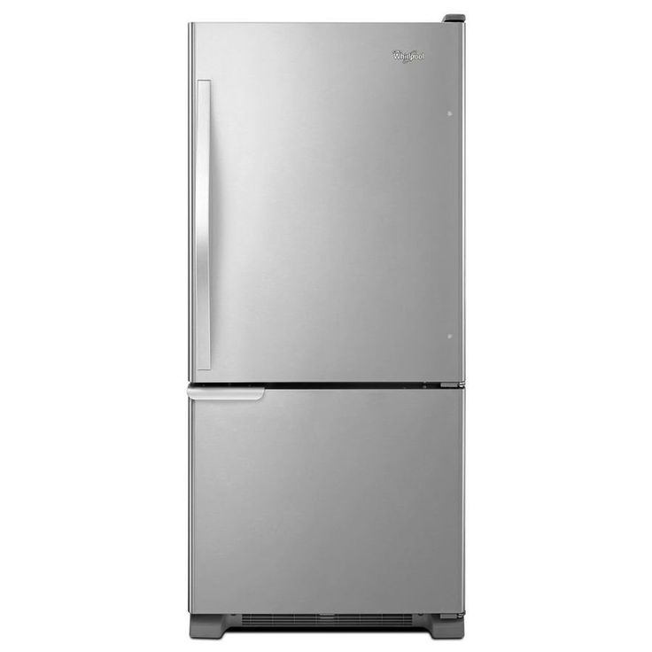 Shop Whirlpool  WRB119WFBM 18.7 cubic ft Bottom-Freezer Refrigerator with ENERGY STAR at Lowe's Canada. Find our selection of refrigerators at the lowest price guaranteed with price match + 10% off.
