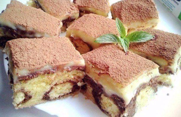Шоколадный пирог с творожными шариками в духовке | Печем и варим