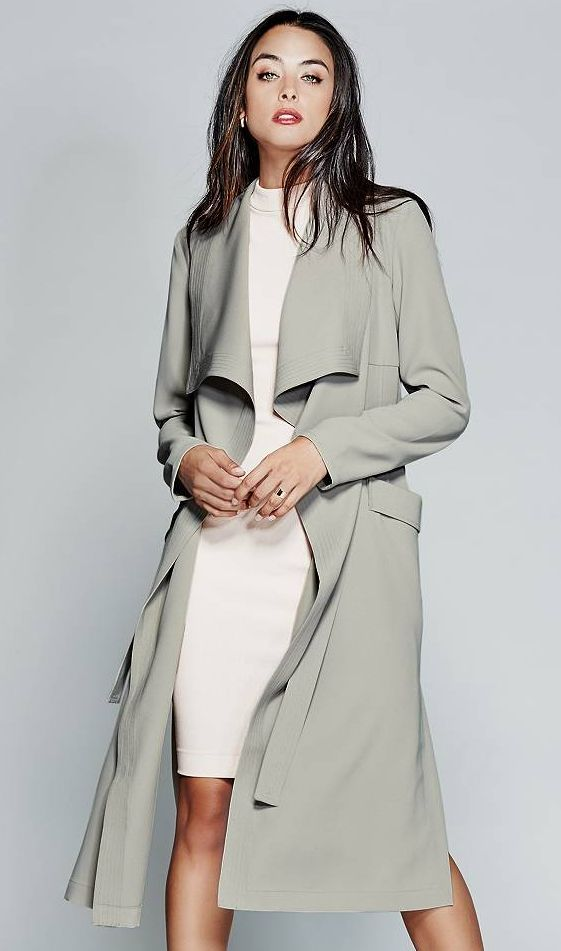 The Lisha Trench Coat | MARCIANO.com