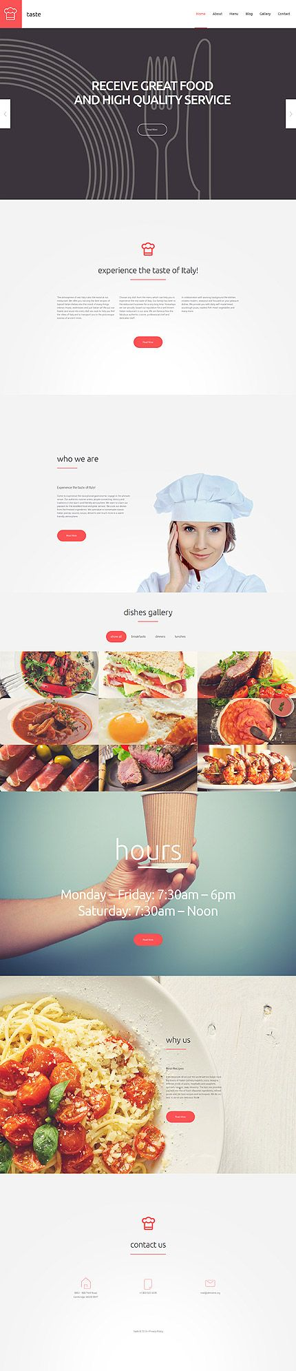 120 best images about food drink web templates on pinterest