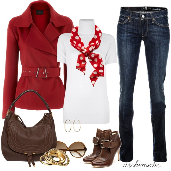 """Red Cashmere Jacket""Clothing, Closets, Outfit, Red Jackets, Holiday Style, Fall Fashion, Cashmere Jackets, Red Cashmere, Cute Jackets"