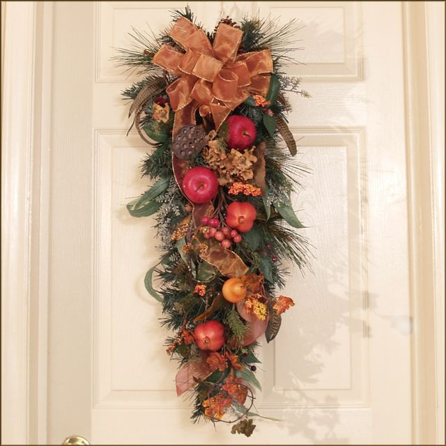 Fall Door Swags: 148 Best Images About Fall Swags On Pinterest