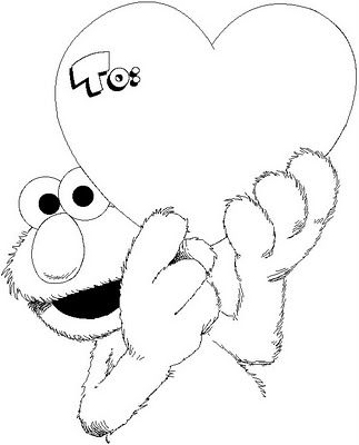 elmo snow coloring pages coloring pages january 2011
