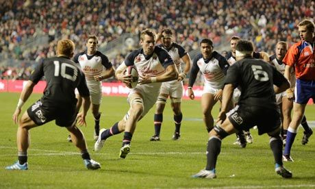 Cam Dolan a big hit as determined US Eagles push Maori All Blacks to the end | Martin Pengelly
