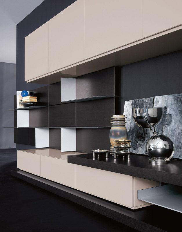 243 best pianca images on pinterest | furniture, cabinet design ... - Mobili Living Design