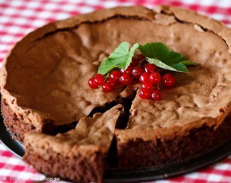 Recept - Fransk chokladkaka