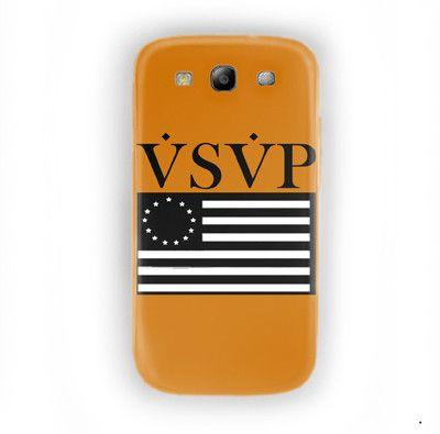 Asap Rocky Gold Vsvp Jet Trilll For Samsung Galaxy S3 Case