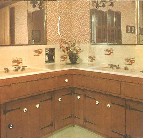Old Knotty Pine Cabinets: 160 Best Mid Century Modest: Early American Decor Images