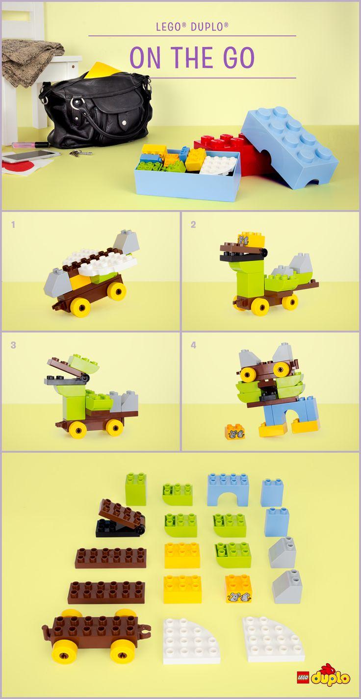 lego duplo around the world instructions