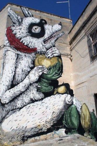 Artist Erica il Cane