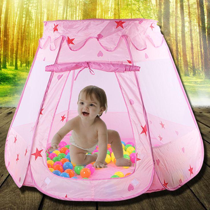 Principessa Tenda del Gioco per le Ragazze, bambini Lodge, Outdoor Casa Giochi Al Coperto per I Bambini, tenda da Campeggio Giocattolo Regalo tente enfant jeu