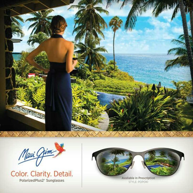 MAUI JIM SUNGLASSES AUTHORISED STORE IN AHMEDABAD Prescription Sunglasses Available  INSPIRED BY THE CLASSIC CAT Popoki, Hawaiian for 'cat', is a cat-eye silhouette built of satin Monel metal complimented by splashy acetate temples. Its lightweight monel metal frame is designed with acetate temples and best complements small or medium face shapes. A vibrant addition to Maui Jim's growing assortment of feminine frames, Popoki is sure to turn heads.  #charunoptic #mauijim #mauijims #popoki