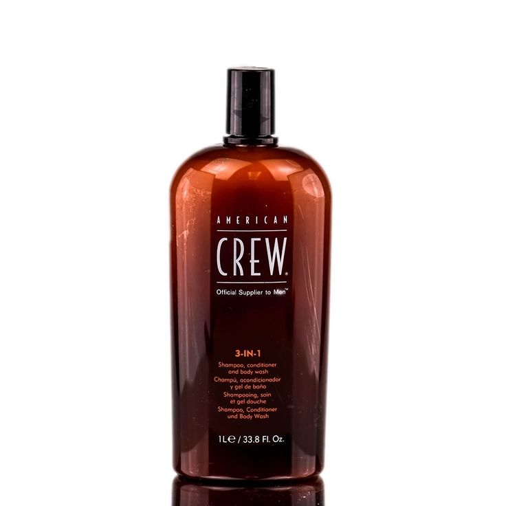 American Crew 3-in-1 Tea Tree Shampoo, Conditioner, and Body