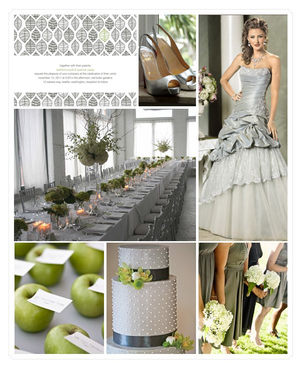 86 best wedding apple green images on pinterest wedding bridal green and gray wedding inspiration board weddings junglespirit Image collections