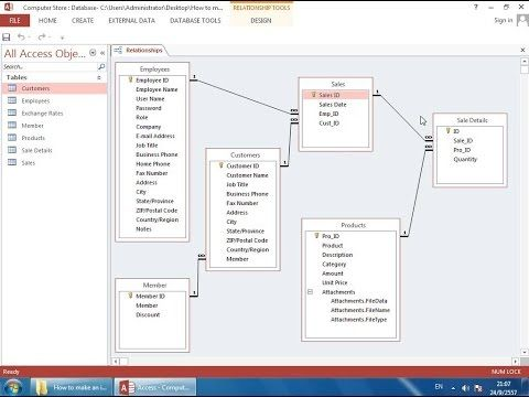 How to Make an Inventory Database in Access (Part 2) - Relationships