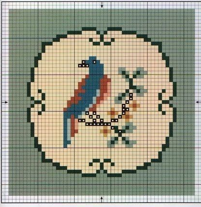 @: free miniature cross stitch designs