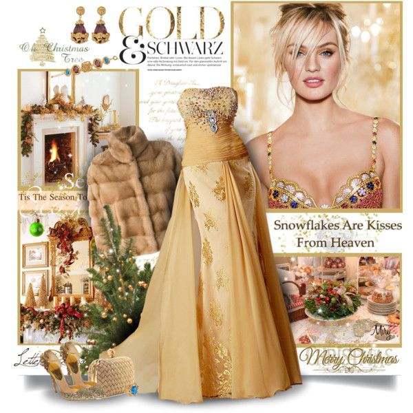 """Gold Magic"" by thewondersoffashion on Polyvore"