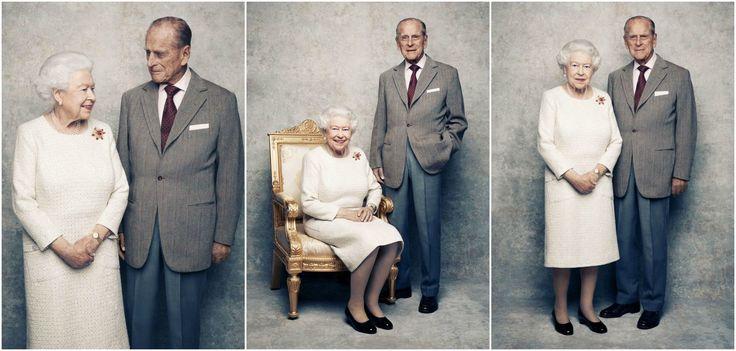Novembre 2017 : Elisabeth II et Philip fêtent 70 ans d'amour